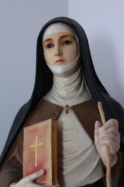 Saint Clare closeup