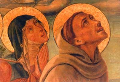 Saint Clare and Saint Francis